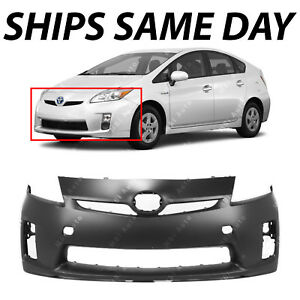 New Primered Front Bumper Cover Replacement For 2010 2011 Toyota Prius Base