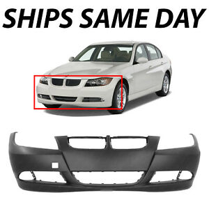 New Primered Front Bumper Cover For 2006 2007 2008 Bmw 325 323 328 330 3 Series