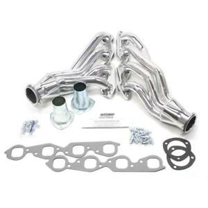Patriot Exhaust Header H8012 1 Clippster Mid Length Ceramic Coated For Bbc