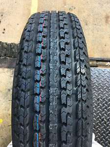 2 New St 205 75r15 Turnpike Trailer Radial Tires 8 Ply 205 75 15 St 2057515 R15