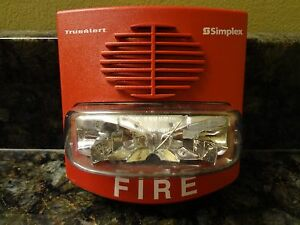 Simplex 4906 9127 0743254 Fire Alarm Strobe Lights Over 350 Available
