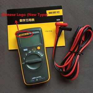 Fluke 101 Portable Handheld Digital Multimeter Tester F101 15b Smaller Version