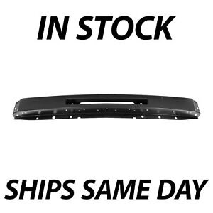 New Primered Front Bumper Impact Center Face Bar For 2007 2013 Silverado Truck