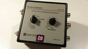 New Focus 125khz Visible Nirvana Detector Model 2007