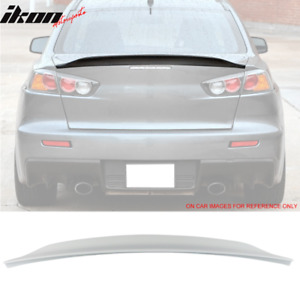 Sale 08 17 Mitsubishi Lancer Evo X Abs Trunk Spoiler Color Painted