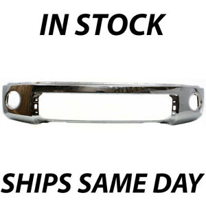 New Chrome Steel Front Bumper Cover For 2007 2013 Toyota Tundra Truck 07 13