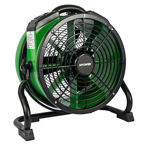 Xpower X 34ar 1 4 Hp Industrial Sealed Motor Axial Fan Floor Air Mover W Outlets