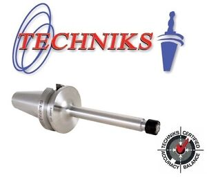 Techniks Bt40 Er20 Mini Nut Collet Chuck 150mm Long At3 Ground 16332