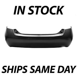 Primered Rear Bumper Cover Replacement For 2007 2011 Toyota Camry Sedan 07 11