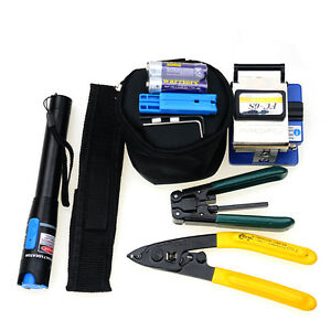 Fiber Optic Ftth Tool Kit Include Fiber Cleaver Fc 6s Fiber Cable Stripper