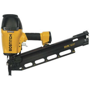 Bostitch 21 Degree 3 1 2 Framing And Metal Connector Nailer F21pl New