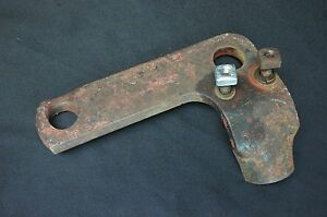A 151 Disk Plow Steering Rod Bracket Ih Farmall International Super A 100 140