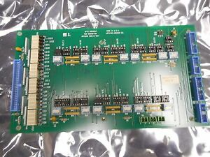 Watkins Johnson 908597 003 Opto Breakout aol Pcb Assly For Wj999 Wj1000 Wj1500