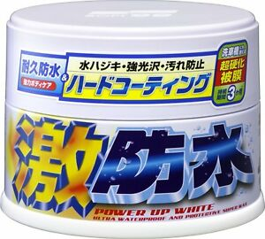 Soft99 Water Block Geki Bousui Wax For White 300g