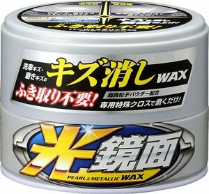 Soft99 New Scratch Clear Mirror Finish Wax For Pearl Metallic 200g