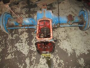 Ford 2600 Tractor Rear End