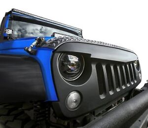 Angry Bird Front Matte Black Grille For Sahara Rubicon 07 18 Jeep Wrangler Jk