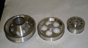 Ralco Rz Performance Underdrive Pulley Kit 92 96 Honda Prelude 2 2l 2 3l New