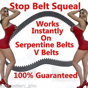 Serpentine Belt Tool Wrench Stops Squeak Squeal Whine Fan Belt Tension Gauge