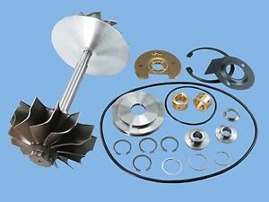 N14 94n14 Diesel Ht60 Turbo Turbocharger Compressor Wheel Shaft Rebuild Kit