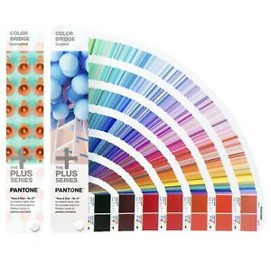 Brand New Pantone Color Bridge Set Coated Uncoated
