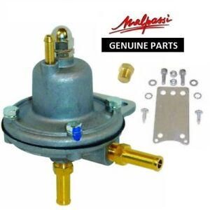 Malpassi Adjustable Fuel Pressure Regulator With Gauge Port 1 5 Bar Air004
