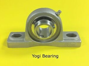 Sucsp208 24 1 1 2 Stainless Steel Pillow Block Bearing