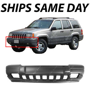 New Textured Front Bumper Cover For 1996 1998 Jeep Grand Cherokee Laredo 96 98
