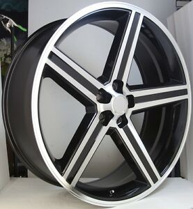 20 Inch Iroc Bm Rims And Tires 300 Charger Magnum Explorer Mountaineer Challenge