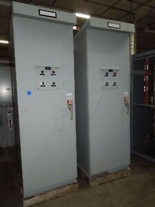Russelectric Automatic Transfer Switch Model Rmtman 6003ef 600a 277 480v Rated