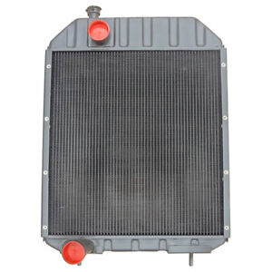 A66330 Tractor Radiator 5 Rows Of Tubes 8 Fins Per Inch Case 1070 1170 1175