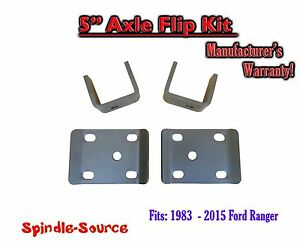 1983 2015 Ford Ranger 5 Inch Lowering Drop Rear Axle Flip Kit 83 15