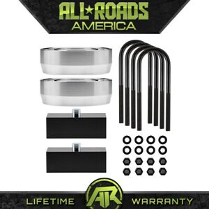 Complete 3 Front 2 Inch Rear Leveling Lift Kit 02 08 Dodge Ram 1500 2wd 4x2