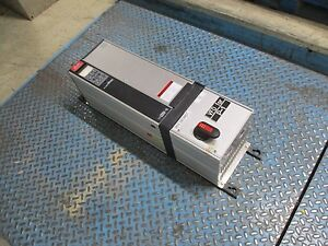 Danfoss Vlt 6011 Ac Drive W Disconnect 175z7360 10hp Used