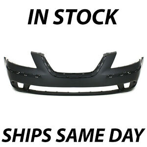 New Primered Front Bumper Cover Replacement For 2009 2010 Hyundai Sonata 09 10