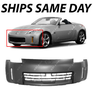 New Primered Front Bumper Cover Replacement For 2006 2009 Nissan 350z 06 09
