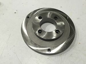 Bison 8215 10 5 Lathe 10 Chuck Adapter Back Plate free Shipping
