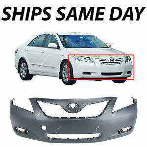 New Primered Front Bumper Cover Fascia For 2007 2008 2009 Toyota Camry 07 09