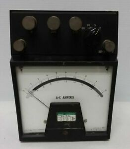 Westinghouse A c Volts Meter Type Pa 151