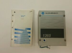 Allen Bradley 1365 Dc Drive Controller Bulletin User Manual