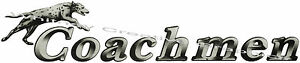 Coachmen Rv Logo Newer Dog Lettering Decal Graphic 40 x8 Made Fresh