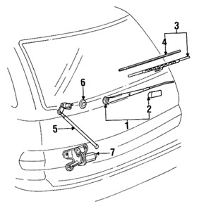 Windshield Wiper System besides Toyota Wipers as well P 0900c152801dbb8a in addition Wheel 20Hub 20Assembly furthermore Windshield Wiper Blade Cowl Removal 1992 Buick Park Avenue. on toyota corolla wiper blade