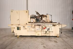 11117 Cincinnati 10 X 48 Plain Cylindrical Grinder Model 10 rx48