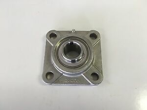 Sucsf207 22 1 3 8 Stainless Steel 4 Bolt Flange Bearing