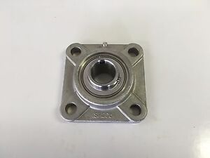 Sucsf208 24 1 1 2 Stainless Steel 4 Bolt Flange Bearing