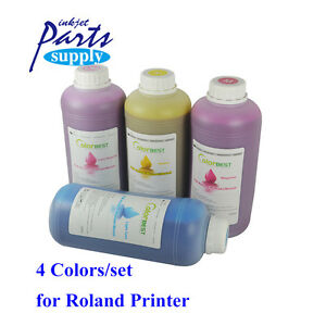 4colors Cmyk Roland Printing Ink Eco Solvent Ink 1000ml For Rs640 sp540 vp540