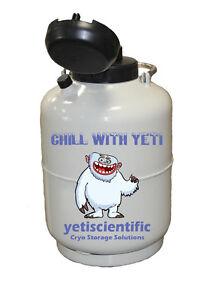 6 L Liquid Nitrogen Tank Cryogenic Dewar Ln2 Warranty ships Fast From Usa