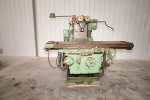 9831j Kearney Trecker Model 330tf 17 Horizontal Mill 72 X 17 Table