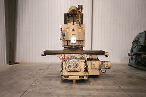 11371 Cincinnati Model 550 20 Vercipower Vertical Mill 94 1 2 X 20