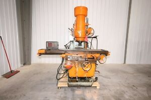 11221 Kearney Trecker 315 Tf 16 Vertical Mill